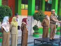 Kepala Dinas Pendidikan jadi Pembina Upacara di SMPN 4 Makassar