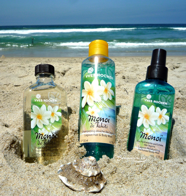 Yves Rocher Monoi de Tahiti line: exotic scent for the body!