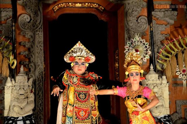 Bailarines danza balinesa Ubud
