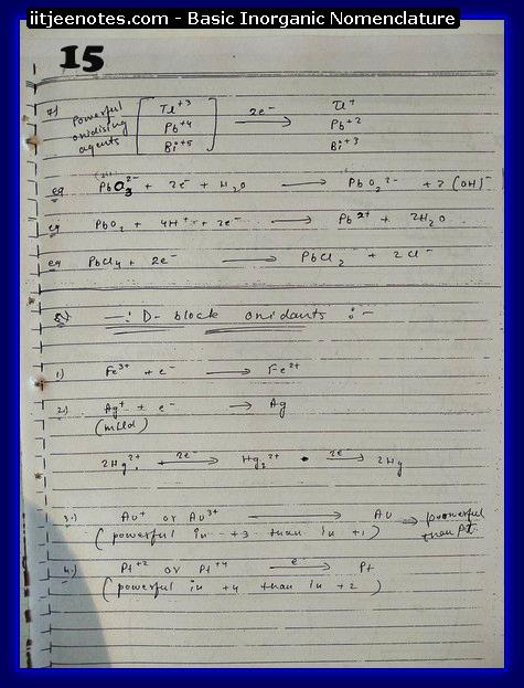 Inorganic Nomenclature15