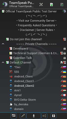 TeamSpeak 3 APK 3.1.6.1 FULL - Android