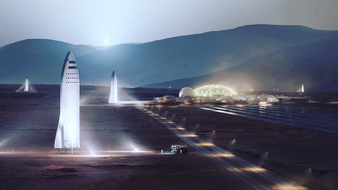 Mars City by SpaceX