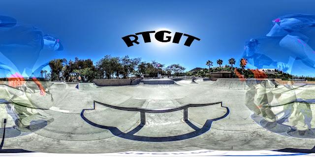 San Clemente Skatepark 360°