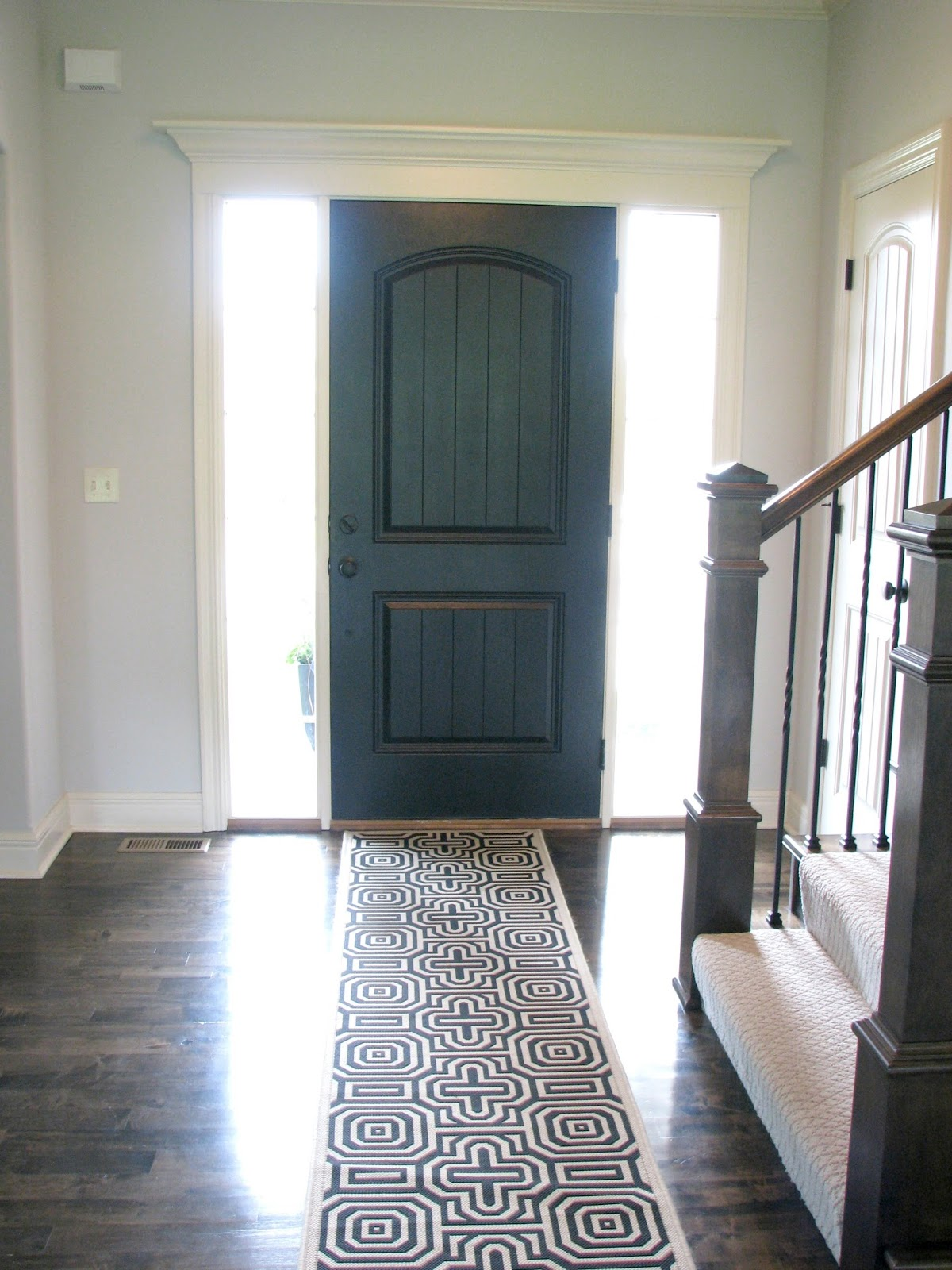 Paint Color Ideas For Bedroom Walls Life Love Larson Black Interior Front Door