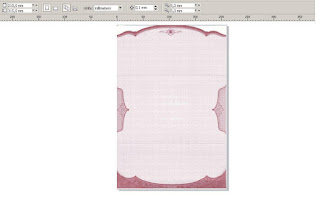 Download Template Undangan Mazaya MZ 018 Versi CorelDRAW X4