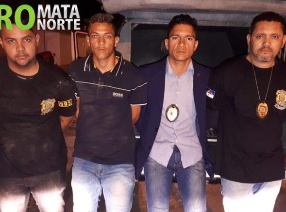 Homens são presos com uniformes e distintivos da Polícia Civil na Zona da Mata de Pernambuco