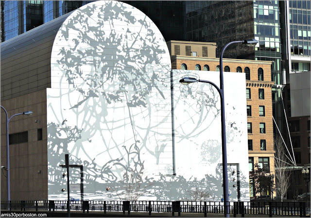 Mural en Dewey Square, Boston