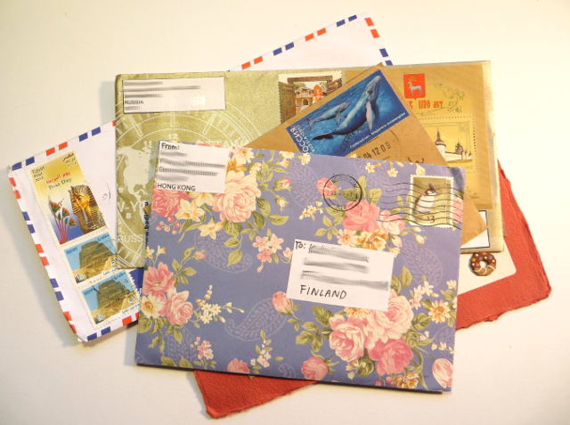 Letters from penpals