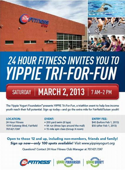The Upward Trend Blog: Yippie Foundation and 24-Hour Fitness Partner