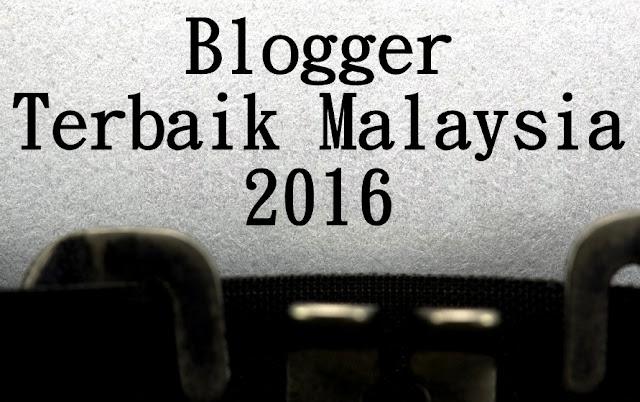 Prestasi 10 Blogger Terbaik Malaysia 2016