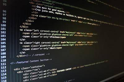 Código fuente de una página web