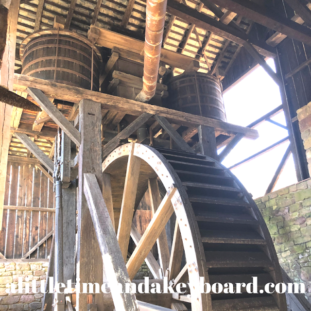 22-Diameter Water Wheel powered the air blast needed to heat the furnace at Hopewell Furnace