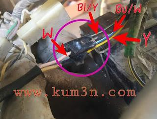 Jalur Sistem Pengapian Kawasaki Ninja R 150 Kips  Kum3nCom