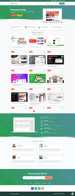 Goomsite AMP Responsive Blogger Template