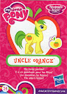 My Little Pony Wave 13 Mosely Orange Blind Bag Card