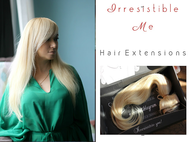Irresistible Me. Hair Extensions.