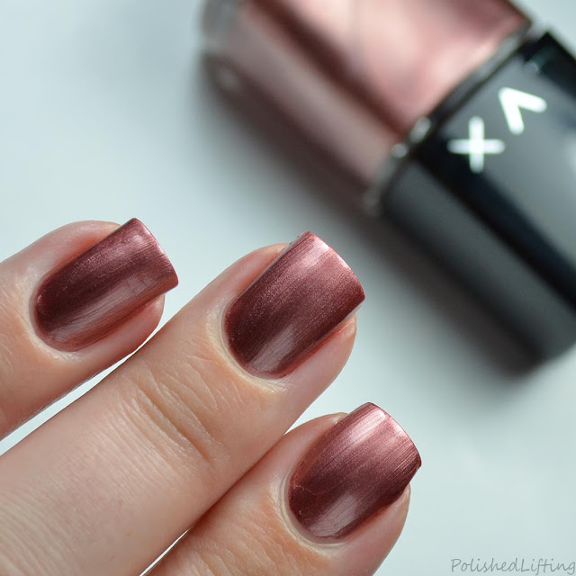 rose colored nail polish