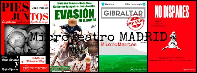 MicroTeatro MADRID / Sesión continua de nuevas creaciones.