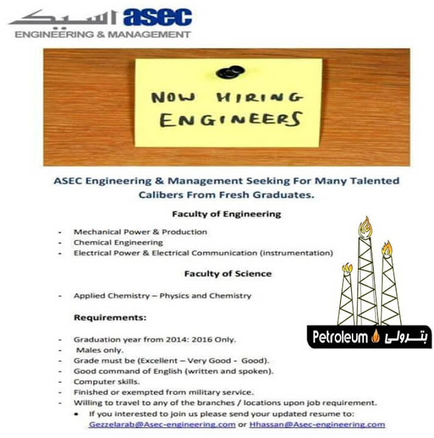 Asec engineering jobs