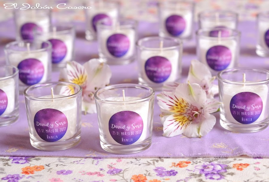 velas para bodas detalles personalizados para invitados
