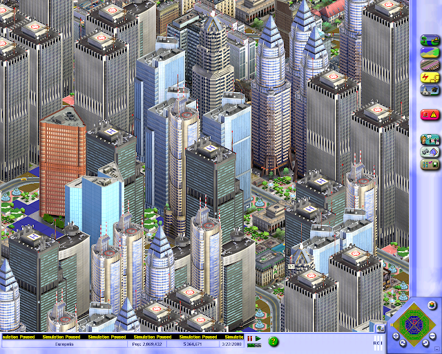 Screenshot from SimCity 3000
