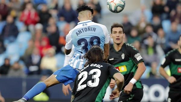 """Antoñín - Málaga -: """"Creo que merecíamos más de un punto"""""""