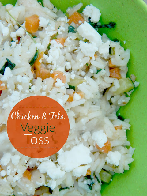 chicken and feta veggie toss (sweetandsavoryfood.com)