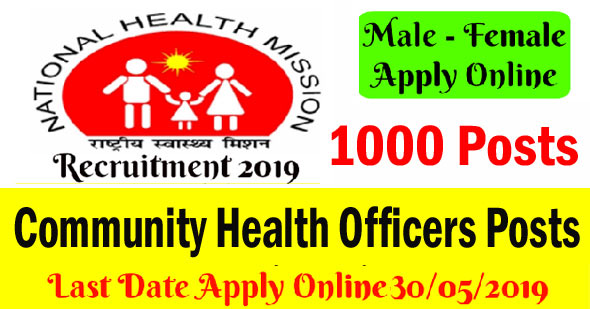 Community Health Officers Posts