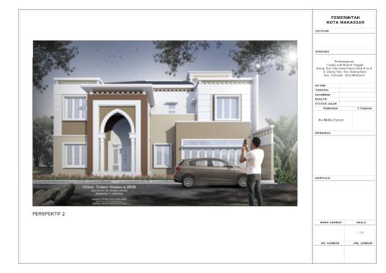 Lingkar Warna Contoh Gambar Kerja Rumah Minimalis 2 Lantai Bergaya Timur Tengah