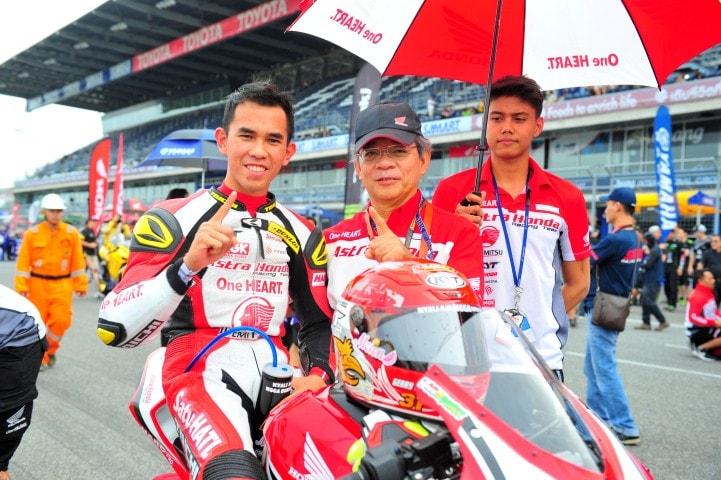 All New Honda CBR250RR tampil dominan, Gerry Salim kunci juara Asia di ARRC 2017 kelas AP250