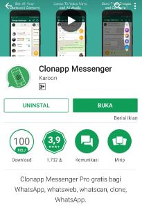 Cara Menggunakan ClonApp Messenger Whatsapp  Begini Cara Menggunakan ClonApp Messenger Whatsapp