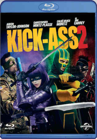Kick-Ass 2 2013 BluRay 800MB Hindi Dual Audio 720p Watch Online Full movie Download bolly4u