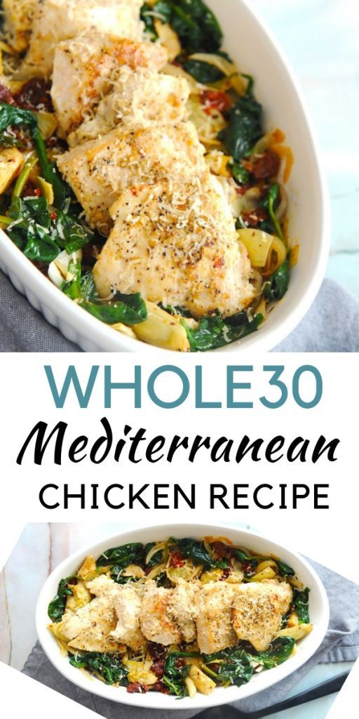 Whole30 Mediterranean Chicken