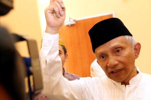 Amien Rais Bakal Hadiri Deklarasi Gerakan Nasional Kedaulatan Rakyat