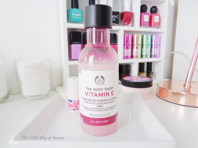 The Body Shop Vitamin E Essence lotion