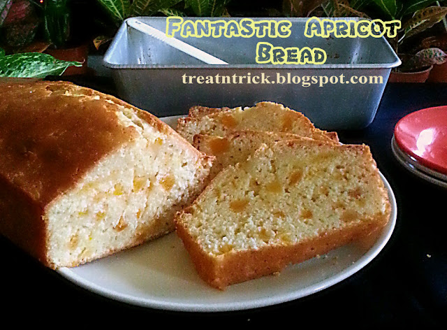 Fantastic Apricot Bread Recipe @ treatntrick.blogspot.com