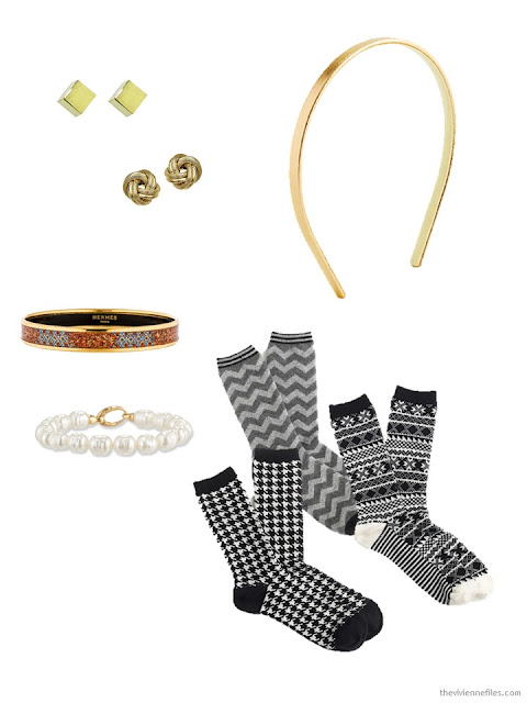minimal accessories to pack for Paris