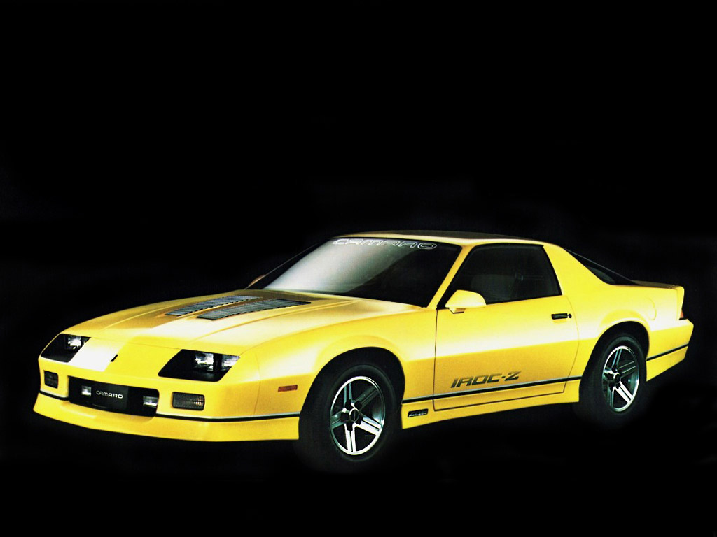 1985 Chevrolet Camaro Iroc Z Watch Car Online
