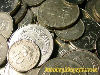 Gambar duit syiling Malaysia  Lunaticg Coin