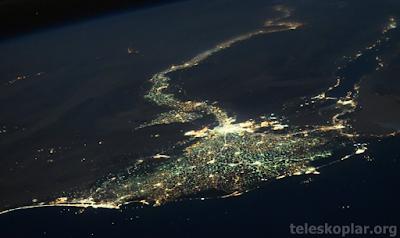 Uzaydan Nil Nehri