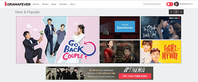 HD streaming Korean Drama's Online