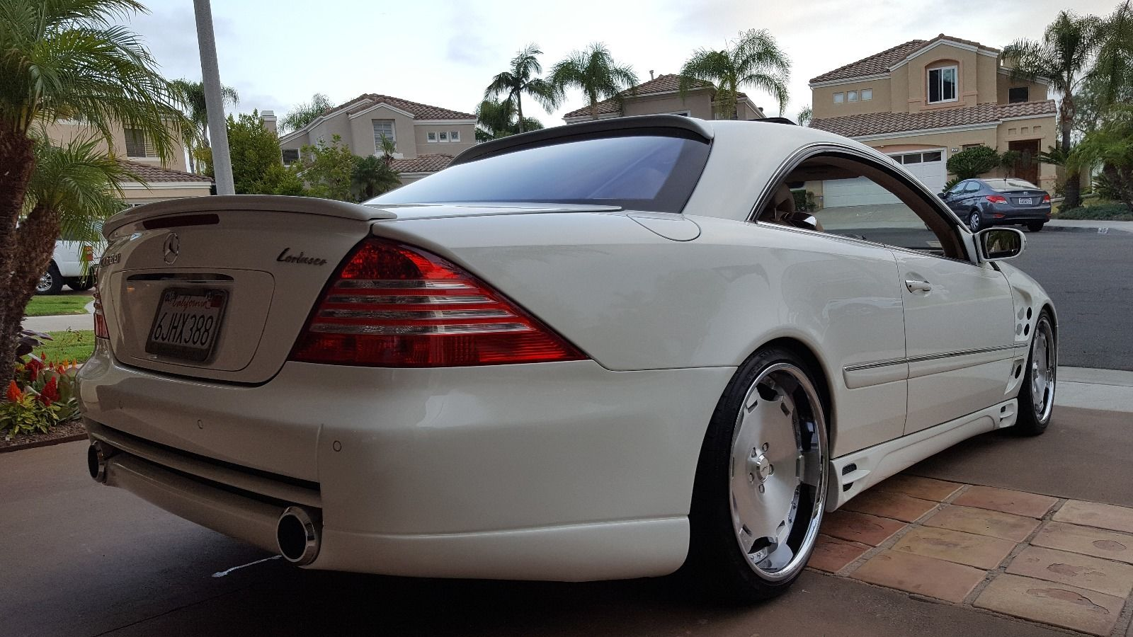 2002 mercedes benz w215 cl500 on 20 avus wheels benztuning. Black Bedroom Furniture Sets. Home Design Ideas