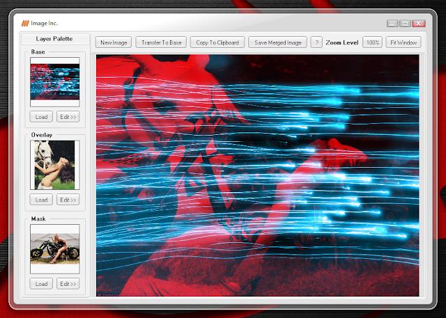 Image Inc. 1.2 | Pequeño programa para combinar, mezclar y superponer imágenes.