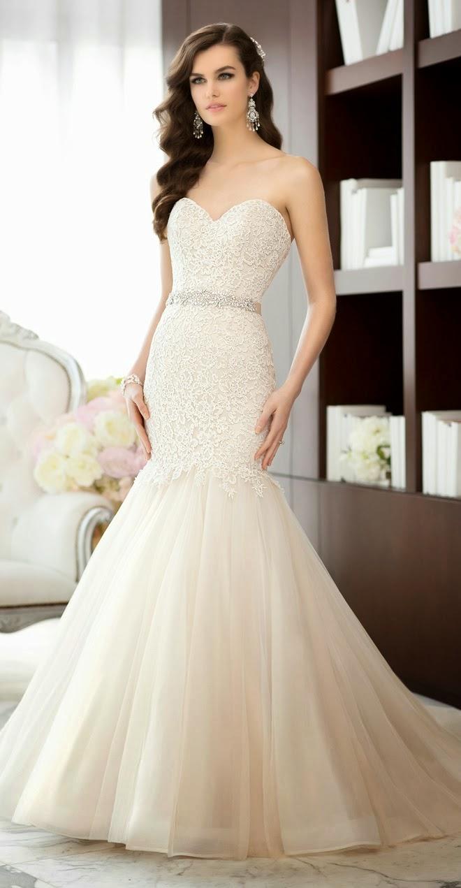 Imagenes de vestidos y peinados de novia
