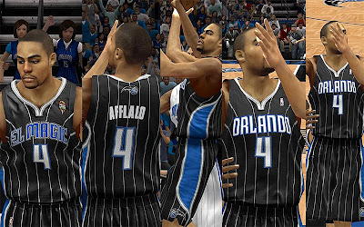 NBA 2K13 Orlando Magic Black Latin Nights Jersey