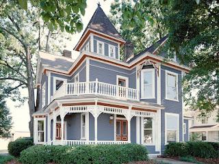 Kombinasi warna cat rumah indah Elegant Grey