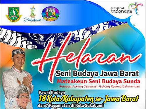 Helaran Seni Budaya Jabar HUT Kota Sukabumi 104