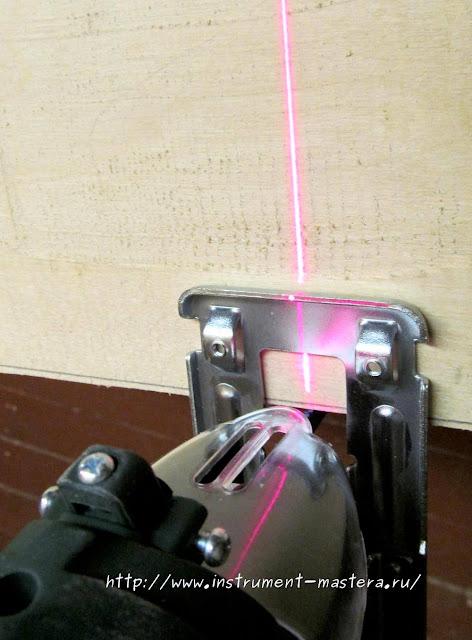 Лазерная подсветка электролобзика