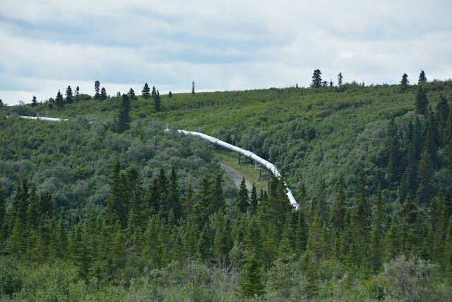 Alaska Pipeline turn