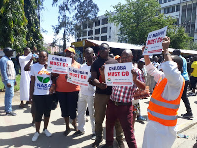 Mombasa Anti-IEBC demostrations. PHOTO | FILE